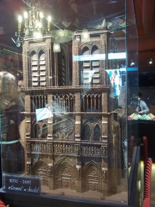 Notre Dame in Chocolate!