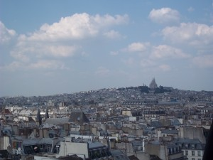 View from the Center Pompidou